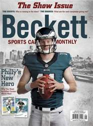 Sports Card Monthly issue August 2016