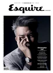 Esquire Singapore issue August 2016
