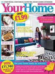 Your Home Magazine issue September 2016