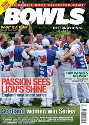 Bowls International issue August 2016