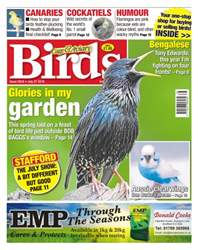 Cage & Aviary Birds issue No. 5916 Glories In My Garden