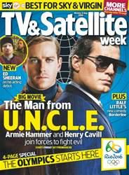 TV & Satellite Week issue 30th July 2016