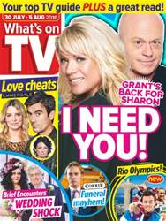 What's on TV issue 30th July 2016