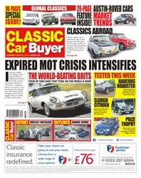Classic Car Buyer issue No. 341 Expired MOT Crisis Intensifies