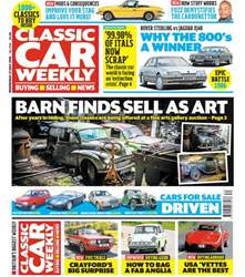Classic Car Weekly issue 27th July 2016