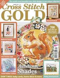 Cross Stitch Gold issue August 2016