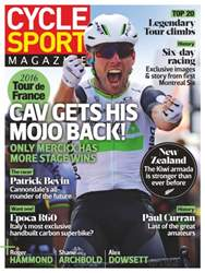 Cycle Sport issue September 2016