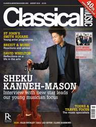 Classical Music issue August 2016