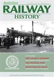 Australian Railway History issue August 2016