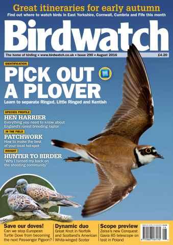 Birdwatch Magazine issue August 2016