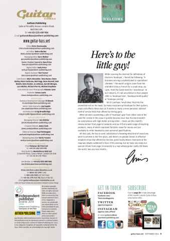 Guitar & Bass Magazine Preview 3