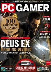 PC Gamer (UK Edition) issue September 2016