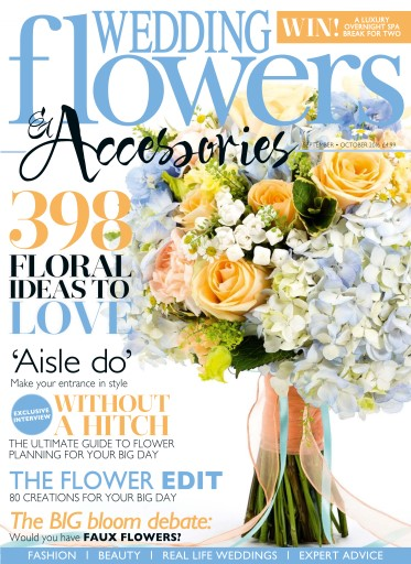 wedding flowers magazine september october16 subscriptions pocketmags. Black Bedroom Furniture Sets. Home Design Ideas