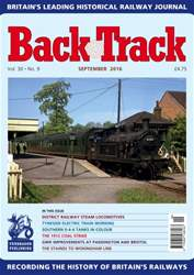 Backtrack issue September 2016