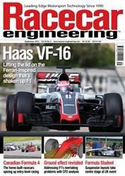 Racecar Engineering issue September 2016