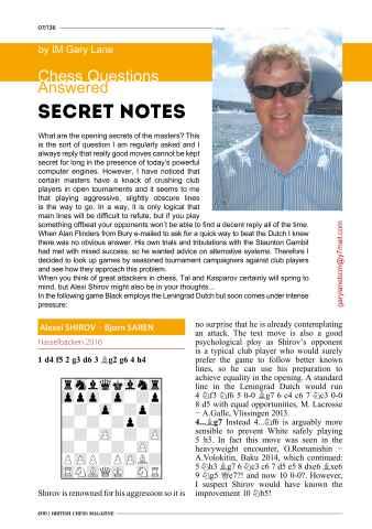 British Chess Magazine Preview 16