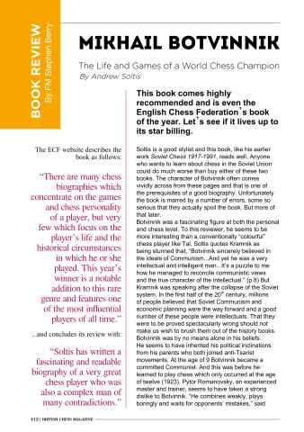British Chess Magazine Preview 28