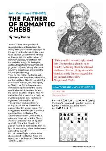 British Chess Magazine Preview 43