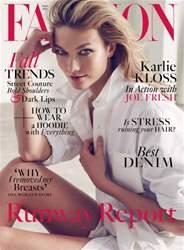 Fashion Magazine issue September 2016