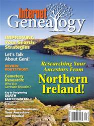 Internet Genealogy issue Aug-Sep 2016