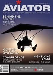 Aviator issue Aug-16