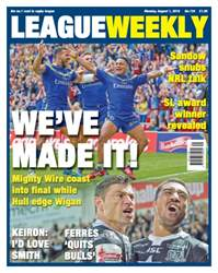 League Weekly issue 734