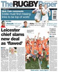 The Rugby Paper issue 31st July 2016