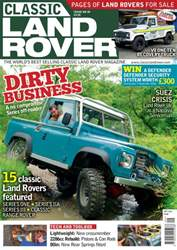 Classic Land Rover Magazine issue September 2016