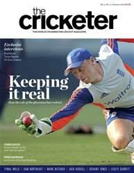 The Cricketer Magazine issue Summer 2016