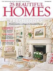 25 Beautiful Homes issue September 2016