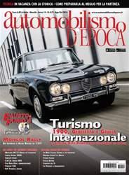 Automobilismo d'Epoca issue Automobilismo d'Epoca 8-9 2016
