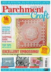 Parchment Craft issue September 2016