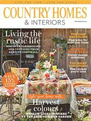 Country Homes & Interiors issue September 2016