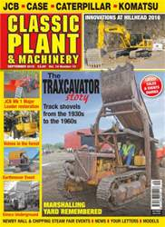 Classic Plant & Machinery issue Vol. 14 No.10 The Traxcavator Story