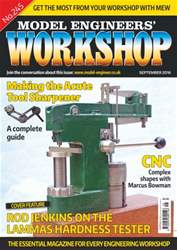 Model Engineers' Workshop Magazine issue September 2016