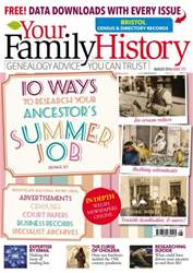 Your Family History issue August 2016