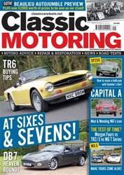 Classic Motoring issue Sep-16