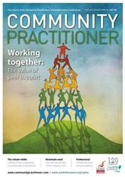 Community Practitioner issue August 2016
