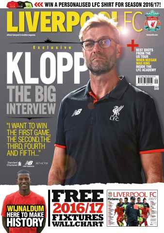 Liverpool FC Magazine issue September 16