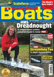 Model Boats issue September 2016