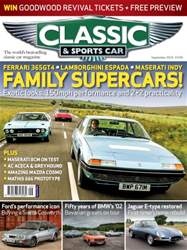 Classic & Sports Car issue September 2016