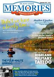 Scottish Memories issue September 2016