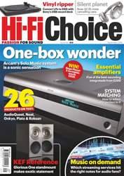 Hi-Fi Choice issue September 2016