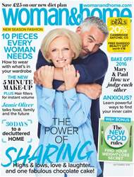 Woman & Home issue September 2016