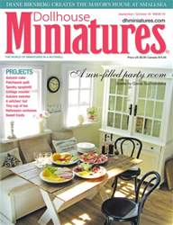 Dollhouse Miniatures issue Issue 53