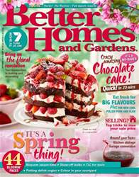 Better Homes and Gardens Australia issue October 2016