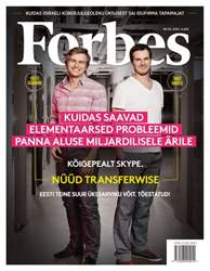 Forbes Estonia issue Forbes Estonia