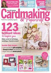 Cardmaking & Papercraft issue September 2016