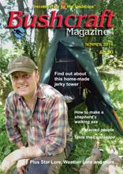 Bushcraft Magazine issue Summer 2016