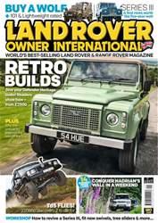 Land Rover Owner issue September 2016